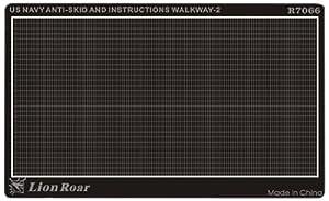 Lion Roar-GreatwallHobby WWII US Navy Antideslizante Placa II (1: 700)