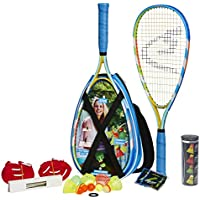 Speedminton Set S700, Azul/amarillo/blanco, 400085
