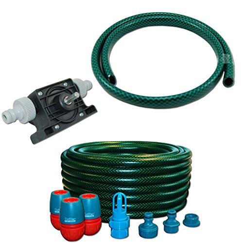 Preisvergleich Produktbild AQUA.REFIT Wasserbetten Service Set Befüllset Entleerung Bohrmaschinenpumpe Mono Pumpe