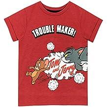 Tom & Jerry Camiseta de Tom y Jerry para Niño