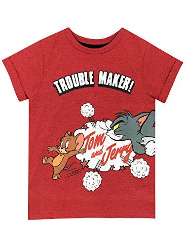 Tom & Jerry Jungen Karikatur T-Shirt 110 cm