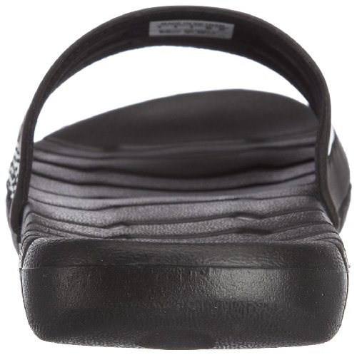 adidas Proveto, Chaussures de bain mixte adulte Noir (black/black/white)