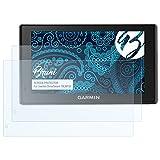 Bruni Schutzfolie für Garmin DriveSmart 70LMT-D Folie - 2 x glasklare Displayschutzfolie Test
