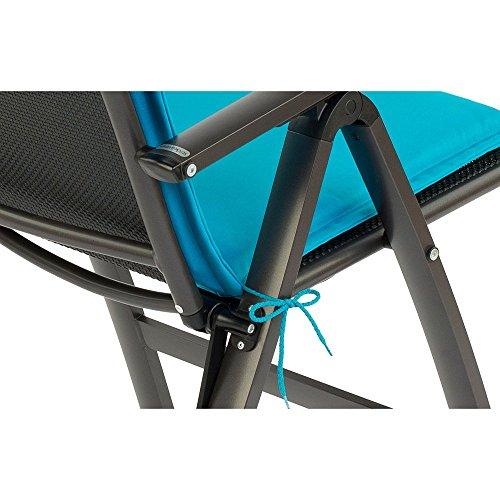 Sun Garden 10149853 Auflage Dessin 50234-140 Esdo für Sessel hoch, 100% Filamentpolyester, L 121 x...