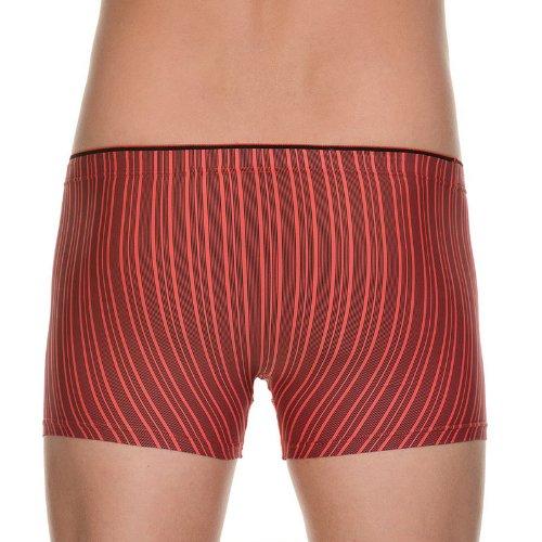 Bruno Banani Herren Short Charge Rot (rot stripes 995)