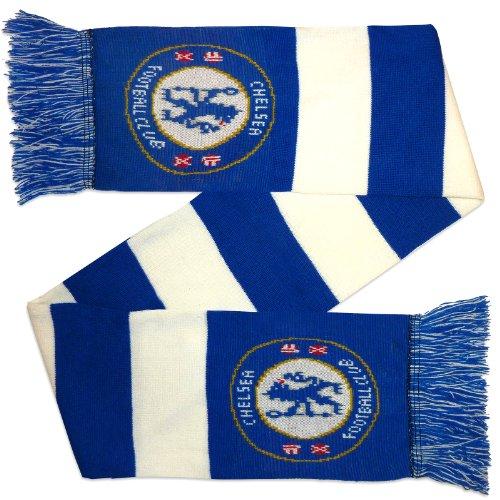 FC Chelsea 0717Schal, Unisex Erwachsene, Mehrfarbig, Einheitsgröße