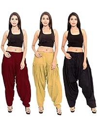 Black macy Women's Semi Patiala salwar combo