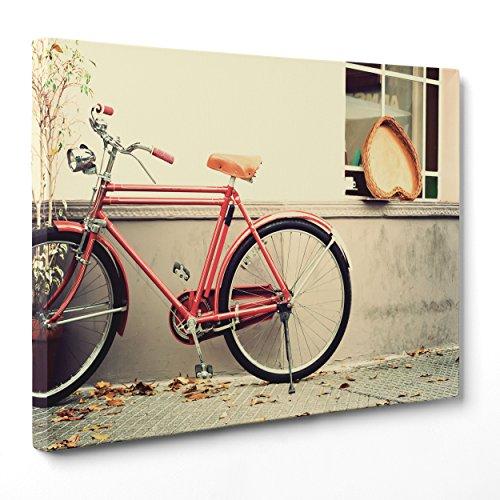 Cuadro sobre lienzo Canvas-ConKrea-Listo para colgar-Bicicleta de Para Hombre Vintage