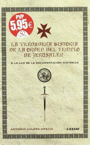 Verdadera Historia De La Orden Del Templ (Mundo mágico y heterodoxo)