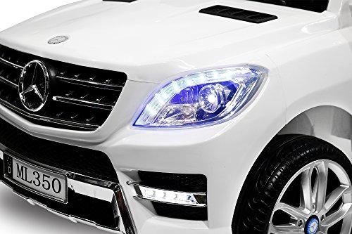 RC Auto kaufen Kinderauto Bild 5: Kinder Elektro Auto Mercedes Benz ML350 2x25W 12V Elektroauto Kinderfahrzeug Ferngesteuert Elektro ml 350 (Schwarz)*
