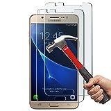 Anderw J5�2016�Twin Pack  Galaxy J5�Displayschutzfolie, Premium geh�rtetes Glas Displayschutzfolie f�r Samsung Galaxy J5�(2016�Release nur) Bild