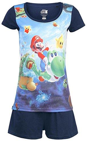 Nintendo Super Mario Galaxy 2 Pigiama blu XXL