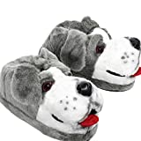 Sleeper'z – Perro pastor – Zapatillas de casa animales originales y divertidas – Adultos y Niños - Hombre y Mujer – XL