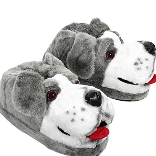 Sleeper'z – Perro pastor – Zapatillas de casa animales originales y divertidas...