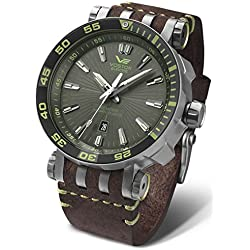 Vostok Europe Mens Automatic Watch Energia Rocket Titanium NH35A-575H284
