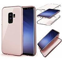 Galaxy S9 Plus Coque,QianYang TPU Souple Coque pour Samsung Galaxy S9 Plus Silicone Étui Protection Case Cover Samsung Galaxy S9 Plus Transparent Absorption de Choc Bumper et Anti-Scratch Hull