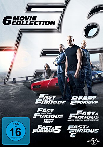 fast and furious dvd box Fast & Furious 1-6 [6 DVDs]