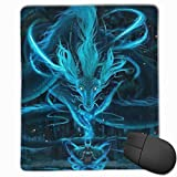 Whecom Gaming Mauspad Schwarz, Mouse Pad Purple Mandala Mousepads Non-Slip Rubber Gaming Mouse Pads Mat for Computers Laptop 9.8 Inch X 11.8 Inch