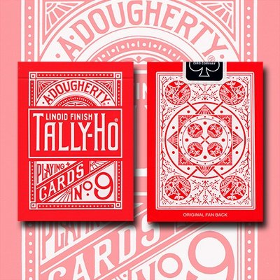 tally-ho-reverse-fan-back-red-limited-ed-by-aloy-studios-uspcc