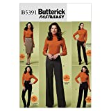 Butterick Schnittmuster 5391 F5 Kurzgrößen Damen Rock & Hosen Gr.