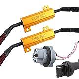 TOMALL 7440 T20 50 Watt 8ohm LED Widerstände Decoder Anti-Flicker für Blinker/Rückfahrscheinwerfer