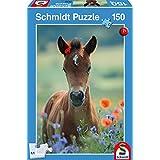 Schmidt Spiele 56196 Mein liebes Fohlen Puzzles, 150 Teile