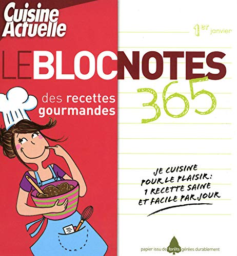 BLOC NOTE IDEES RECETTES