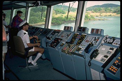 669051-bridge-on-royal-princess-cruise-ship-a4-photo-poster-print-10x8
