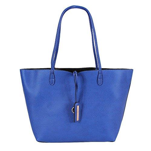 street-level-5858-reversible-2in1-shopper-blue-black