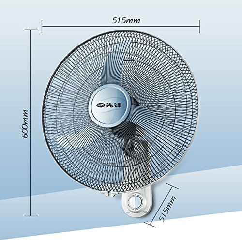 WYYY Electric Fan Wall Fan Wall-mounted Multifunction Can Shake His Head Silent Restaurant Living Room Three-speed Adjustable