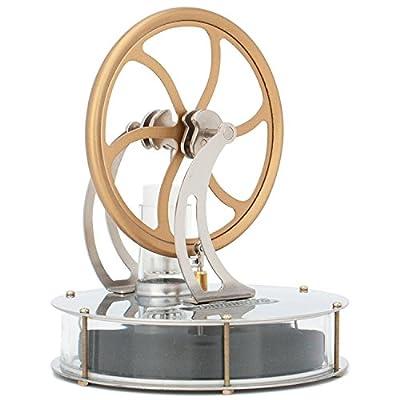 Stirlingmotor - Elekpro Sterling Engine Stirling Motor Sterling Motor Handwärme Stirling Niedertemperatur Stirling Maschine Pädagogisches Spielzeug für Kinder von Elekpro