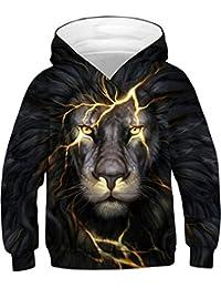 Silver Basic Jungen Sweatshirts 3D Druck Grafik Hoodie Pullover Langarm  Sweatshirt Kapuzenpullover ede18f5aa9
