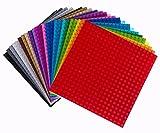 """Strictly Briks Bauplatten-Set - kompatibel mit Allen großen Marken 6"""" x 6"""" (15,2 x 15,2 cm) - 24 Stück"""