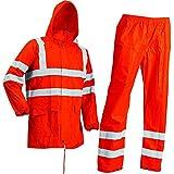 Lyngsoe LR60552-05-XL Pantalon et Blouson de pluie Taille XL Fluo Orange