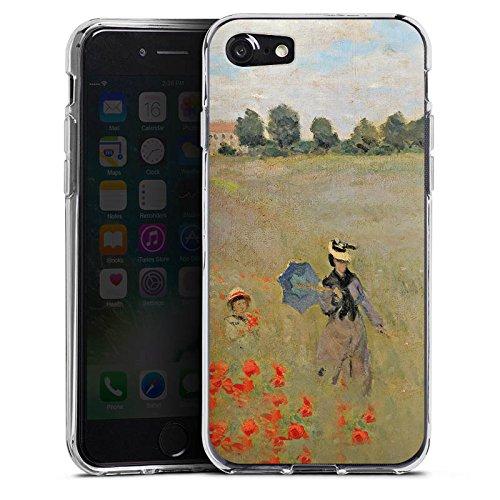 Apple iPhone X Silikon Hülle Case Schutzhülle Claude Monet Gemälde Kunst Silikon Case transparent