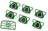 Hepa-Set 6 Staubsaugerbeutel Premium + Motorschutzfilter geeignet für Vorwerk Kobold VK 200