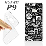 K237Case Huawei P9Soft Gel TPU Brands of Cars Autos Spare Parts