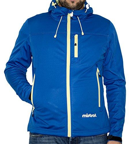 Mistral giacca uomo/donna Unisex blu / giallo L