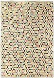 Nain Trading Kelim Afghan Heritage 287x197 Orientteppich Teppich Beige/Rosa Handgewebt Afghanistan
