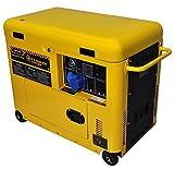 Générateur de courant Diesel 6 kw silencieux monophase - Groupe électrogène -...