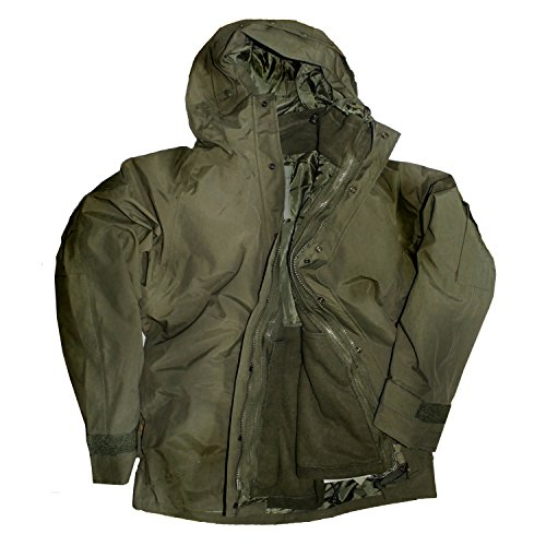 Outdoorjacke Nässeschutz mit integr. Fleecejacke (XXXl)