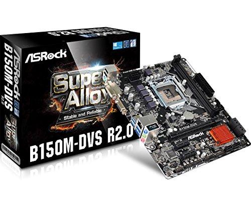 Asrock B150M-DVS R2.0 Intel B150 LGA1151 Micro