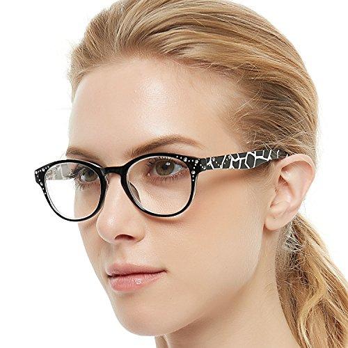 OCCI CHIARI Brille Lesebrille Hyperopie Brille klassische Mini faltende ganze Brille ovale Lesebrille geeignet für männliche Frauen1.0 1.25 1.5 1.75 2.0 2.25 2.5
