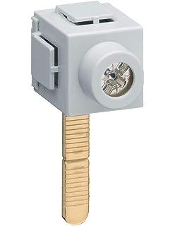 pour coffret 2 rang/ées entraxe 125mm hager kcn225 barre dalimentation interrupteurs diff