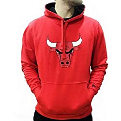 Sudadera capucha New Era – Nba Chicago Bulls Tip Off Po rojo talla: XS (X-Small)