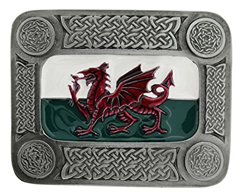 Welsh Dragon Belt Buckle comes in one of my Presentation Boxes.