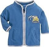 Schnizler Baby-Jungen Jacke Fleecejacke Bagger, Oeko-Tex Standard 100, (Blau 7), 86