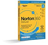 Norton 360 Deluxe 2020 | Antivirus pour 3 appareils et un an d'abonnement avec renouvellement automatique | Secure VPN et Password Manager | PC/Mac/iOS/Android | Téléchargement