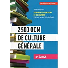 2500 QCM de culture générale