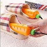 VPlus 220 V 10 W enchufe europeo en forma de zanahoria secador de zapatos protector desodorante deshumidificador dispositivo zapatos secador máquina calentador de ahorro de energía